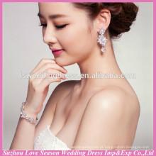 WS0004 casamento festa nupcial prata mão cadeia moda design
