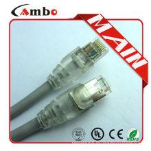 8P8C RJ45 2m 3m 5m utp sfp cat6 cable de remiendo en fabricante profesional