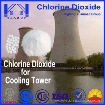 Torre de resfriamento Biocida Agente de dióxido de cloro