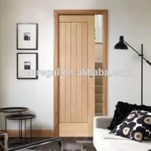 Space saving pocket hotel sliding wooden door