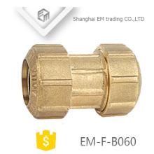 EM-F-B060 Durchmesser 2-Wege Gleiche Verbindung Spanien Sanitär Rohrverschraubung