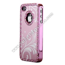Wave Pattern Diamond Case For iPhone 4s