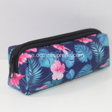 Promotional Sublimation Zippered Pencil Case