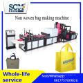 Saco automático não tecido da caixa que faz a máquina