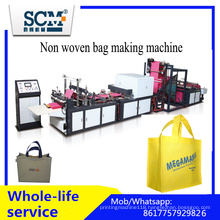 Automatic Non Woven Box Bag Making Machine