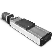 Atuadores personalizados de movimento linear de 120 mm de largura para movimento horizontal e vertical