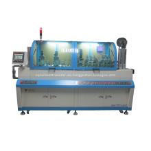 Máquina de fresado e inserción de dos núcleos
