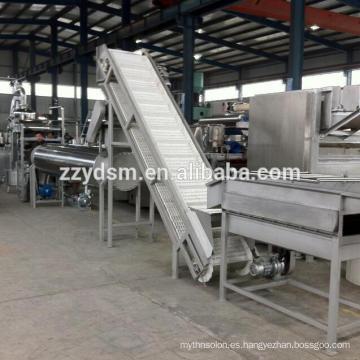 Línea completa de procesamiento de jugo de manzana de anacardo