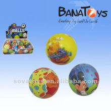 7cm Lovely cartoon design pu bounce ball toy