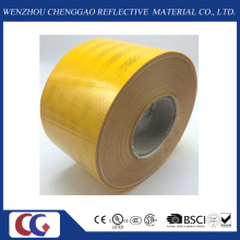 Yellow High Visibility Vehicle Reflective Tape in Size 10cm Width