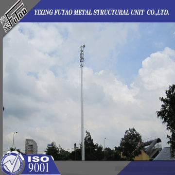 Hot Dip Galvanized 30M Gsm Steel Mono Poles