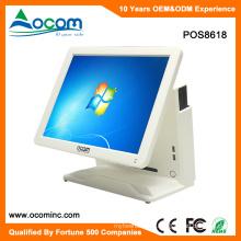 POS8618 15 pulgadas de pantalla táctil todo en uno con pantalla táctil para la aplicación al por menor