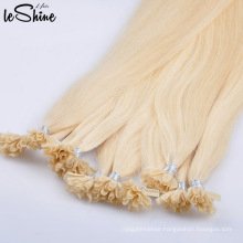 100% European Remy U Tip Hair Extension Double Drawn Blonde
