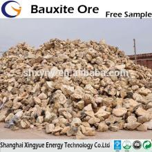 60% -88% Al2O3 calcinierter Bauxit zum Verkauf Gibbsit Bauxit