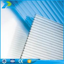 ISO certificado Twinwall Lowes policarbonato hoja de espesor de techos