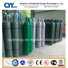 Niedriger Preis 50L Hochdruck Argon Sauerstoff Stickstoff Kohlendioxid Nahtloser Stahl Zylinder