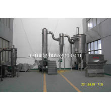 rotating spin flash dryer for rubber chemicals