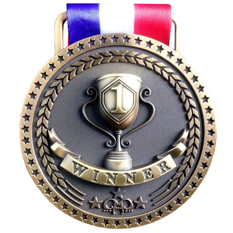 Antique Finish Medal