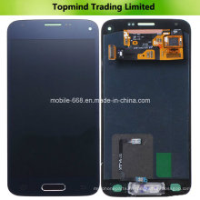 Assemblée d'écran tactile de convertisseur analogique-numérique d'affichage à cristaux liquides pour Samsung Galaxy S5 mini G800f