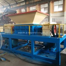 Máquina de trituradora de plástico de eixo duplo de alta capacidade