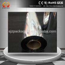 silver metallic film/silver metallized film/silver coated metallized pet film