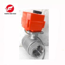 12 v 24 v DN32 DN25 DN40 ss304 CTF-001 10nm motorisiertes Regelventil