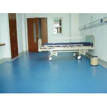 Rouleau de PVC et de vinyle d'hôpital pour le plancher utilisé d'intérieur