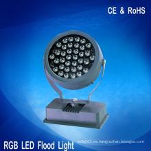 36W luces de inundación llevadas punto del rgb iluminación de la decoración del dmx 24V CE RoHS