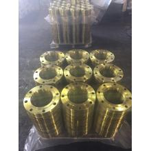 DIN Standard Yellow Coating for Steel Flanges
