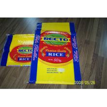 Sachet de riz tissé de 50 kg