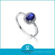 925 Sterling Silber Modeschmuck Ring für kostenlose Probe (J-0166-R)