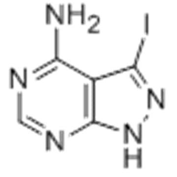 1H-Pyrazolo[3,4-d]pyrimidin-4-amine,3-iodo- CAS 151266-23-8