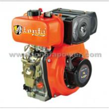 Одноцилиндровый двигатель Lonfa с ручным запуском, малый дизельный двигатель мощностью 9/10 л.с.