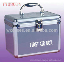 hot sell aluminum medical box with different styles