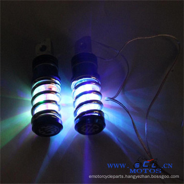 SCL-2015070095 With Multi-color LED Light Motorcycle Foot Rest