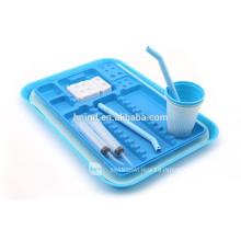 Plateau plastique médical élégant jetable