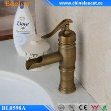 Beelee Antique Brass Single Handle Basin Faucet
