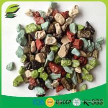 Caramelos de chocolate de piedra certificada Halal a granel