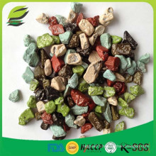 Halal certified stone chocolate candy in bulk