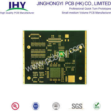 10 Layer Multilayer Immersion Gold PCB Snelle levering