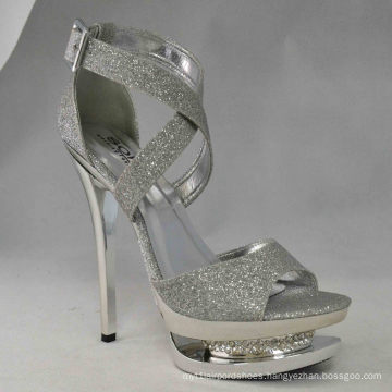 2016 New Arrival Fashion High Heel Ladies Sexy Sandals (HCY03-044)
