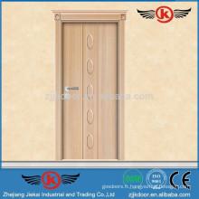 JK-TP9007 portes pvc à chaud et fenêtres / porte pvc