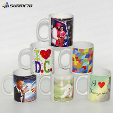 FREESUB 11oz Personalized Heat Transfer Ceramic Mug