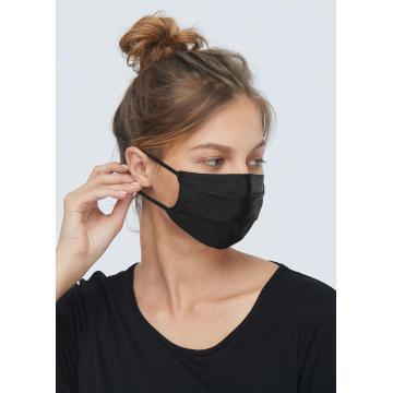 Cosy Pure Silk Gauze Mask Многоразовая удобная и дышащая   Регулируемые петли для ушей 2-слойная регулируемая носовая проволока