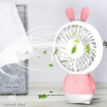Outdoor Handheld Fan Rechargeable Night Light Fan