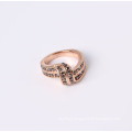 Infnity Fashion Ring with Colorfull Rhinestones