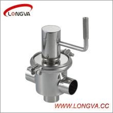 Válvula de inversión manual de acero inoxidable tipo M30