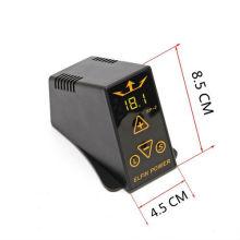 New Pro Tattoo Power Supply Mini Digital Box & Cord Kit For Machine Gun EP-2