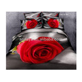 Luxury Wedding Duvet Cover Bedding Sets Beautiful Romantic Red Roses