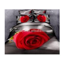 3D Bettwäsche Made in China mit 4 Stück Bettbezug Pillowcases Bettwäsche